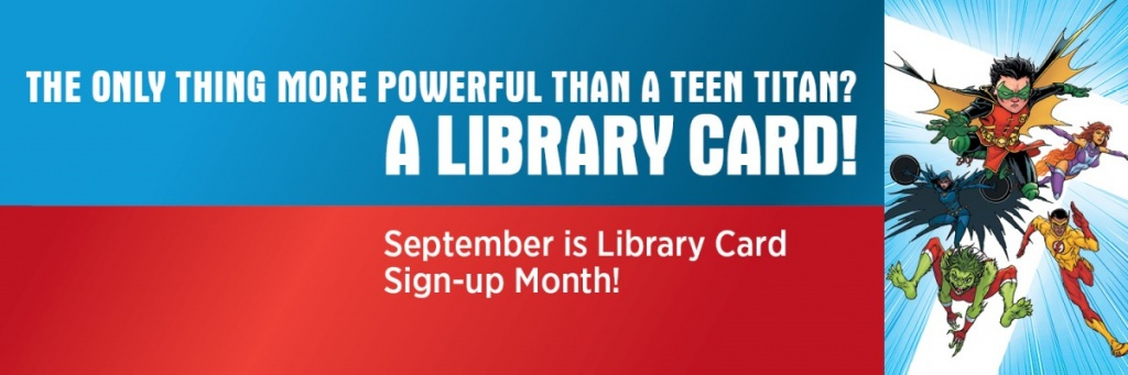 Twitter Header for Library Card Sign-up