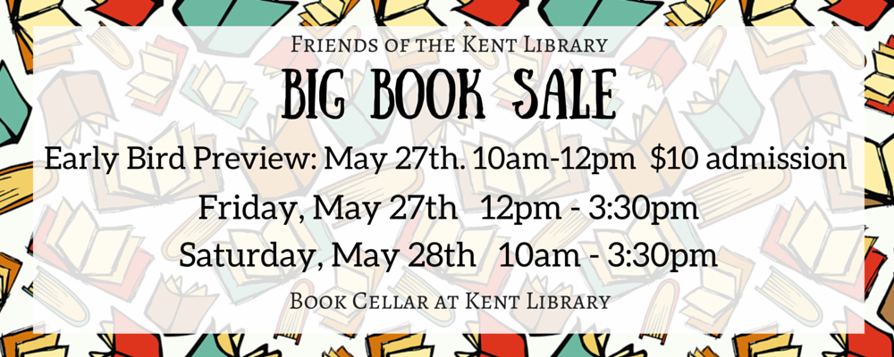 Friends Book Sale - May 27th & 28th 10am to 3:30pm