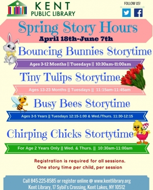 Spring Story Hours