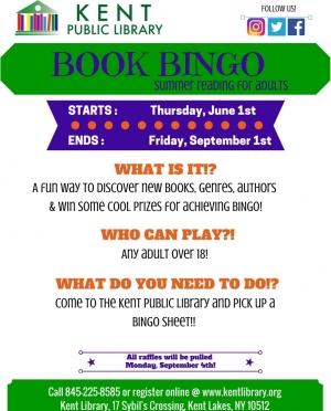 Book Bingo Flyer