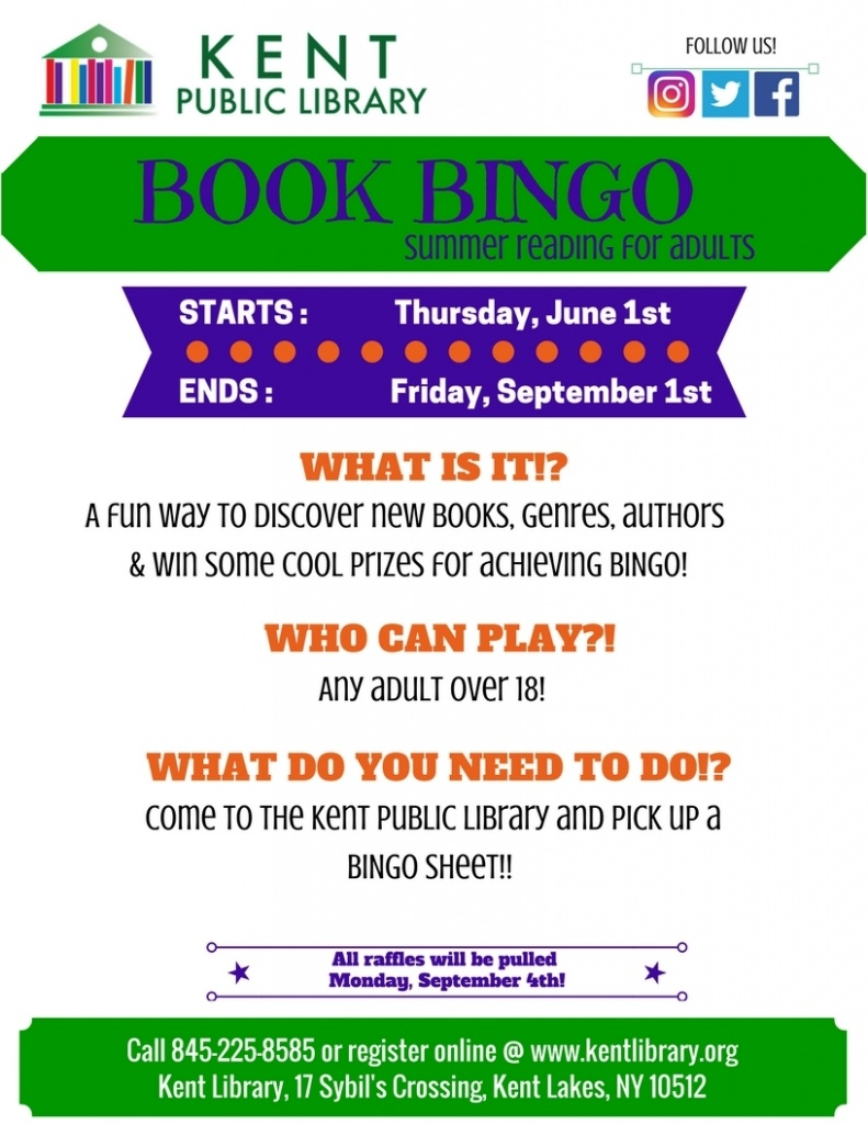 Book Bingo Flyer