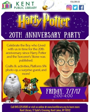 Harry Potter Party Flyer