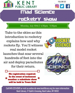 Mad Science, rocket show