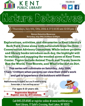 Nature Detectives Summer 2017