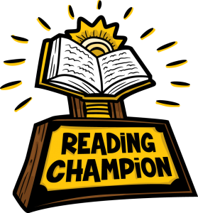 Summer Reading Champion Tropy