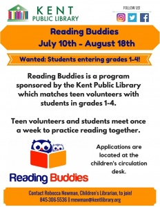 Reading Buddies Summer 2017