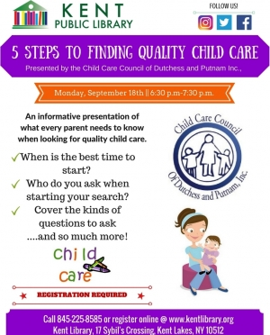 5 steps to finding quality child care,