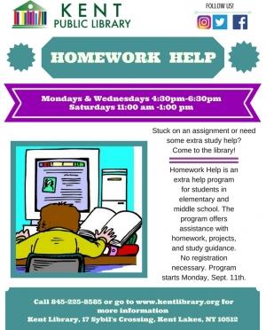 Homework Help Fall 2017