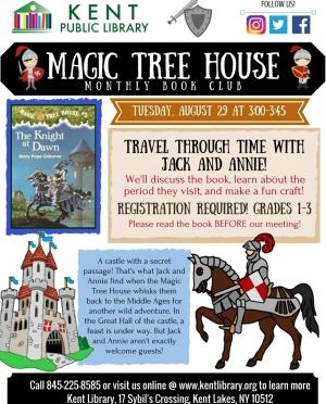Magic Tree House August 2017
