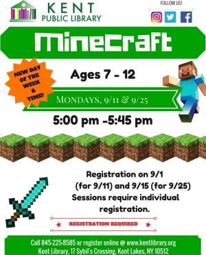 Minecraft September 2017