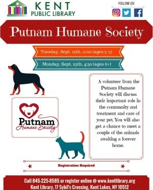 Putnam County Humane Society Visit Sept.2017