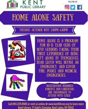 Home Alone Safety for Children 10-13 years