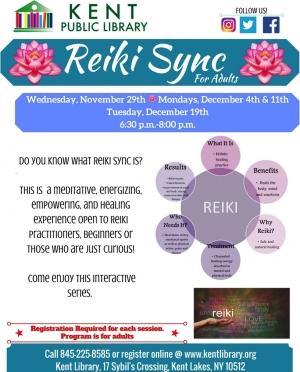 Reiki Sync November Dec 2017