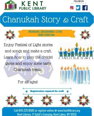 Chanukkah Story Time 2017