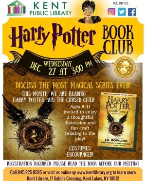 Cursed Child Book Club Poster