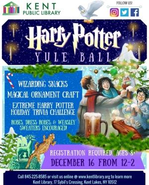Harry Potter Yule Ball Flyer