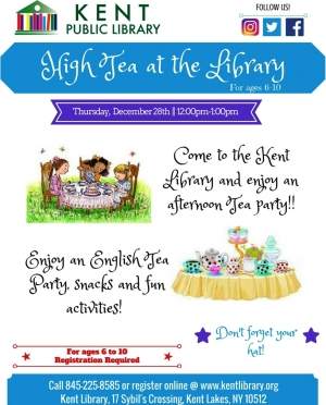 High Tea at the Library 2017