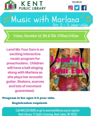 Lend Me Your Ears - Music With Marlana