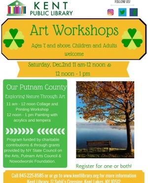 Our Putnam County Art Workshop for Children and Adults Final