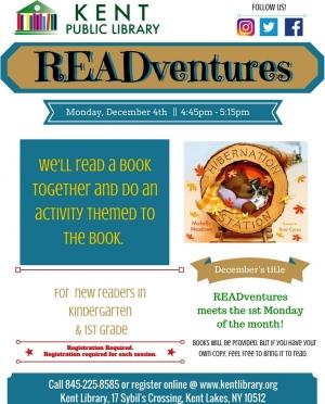 READventures December 2017