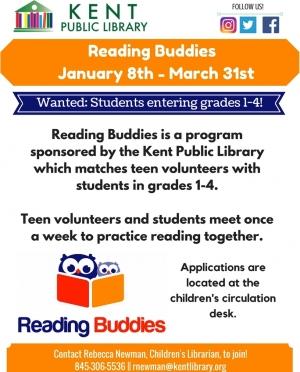 Reading Buddies Jan 2018-march2018