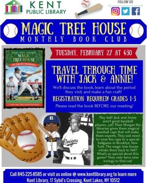 Copy of Magic Tree House January 2018