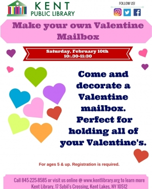 Copy of Make your own Valentine Mailbox Feb 2018
