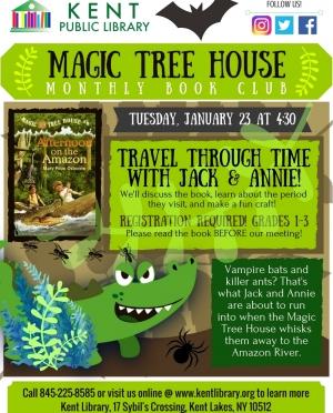 Magic Tree House January 2018
