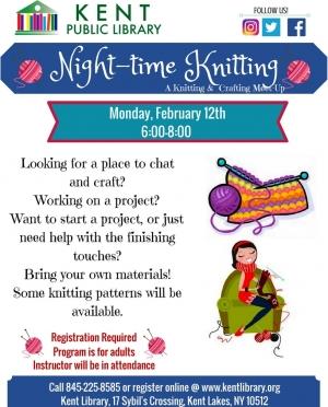 Night-time Knitting Feb