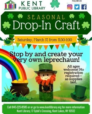 Drop-In Leprechaun Craft