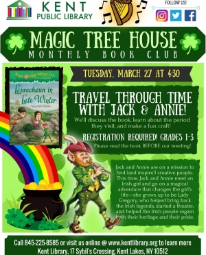 Magic Tree House March 2018