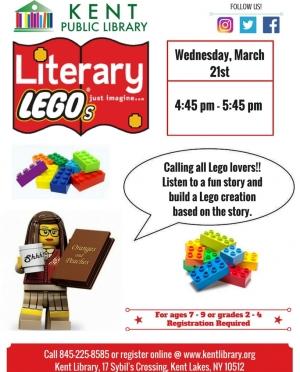 March 2018 LITERARY LEGOS