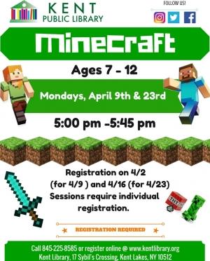 Minecraft April 2018