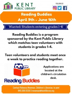 Reading Buddies April - June 2018