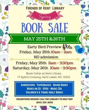 Copy of Spring Friends Book Sale
