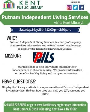 Putnam Indepentant Living Services! visit May 2018
