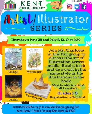 Artist_ Illustrator Series Flyer