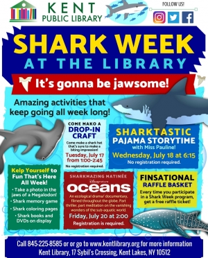 Shark Week Flyer