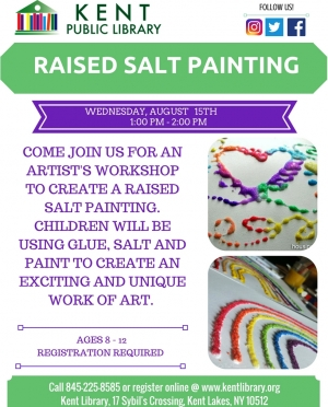 Raised Salt Painting Class August 2018
