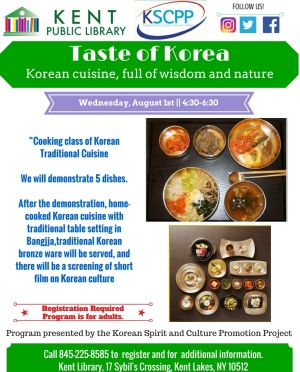 Taste of Korea, August 2018
