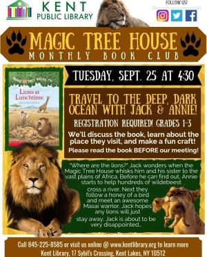 Copy of Magic Tree House July 2018