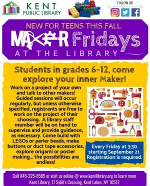 Maker Fridays Flyer