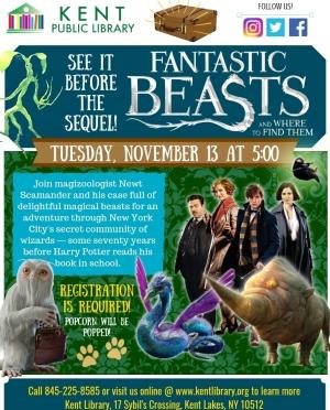 Copy of Fantastic Beasts Movie Flyer