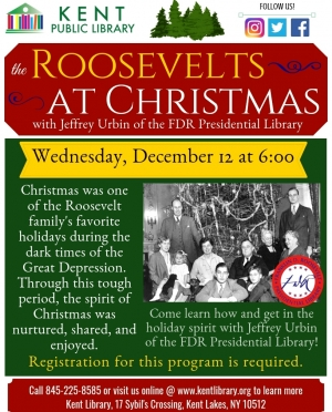Roosevelts at Christmas