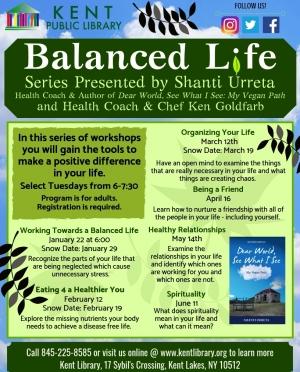 Balanced Life All Series Flyer