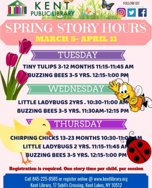 Spring Story Hours 2019