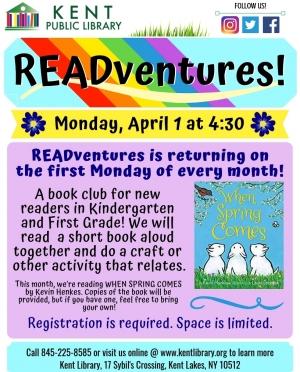 Copy of READventures Returns!