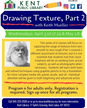 Keith Mueller Drawing Texture Pt. 2
