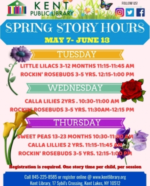 May Story Hours 2019
