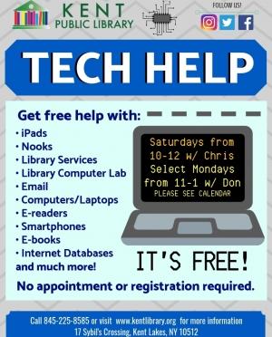 New Tech Help Flyer
